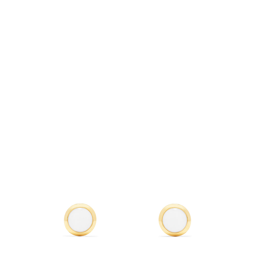 Effy Aurora 14K Yellow Gold Opal Stud Earrings, 0.75 TCW
