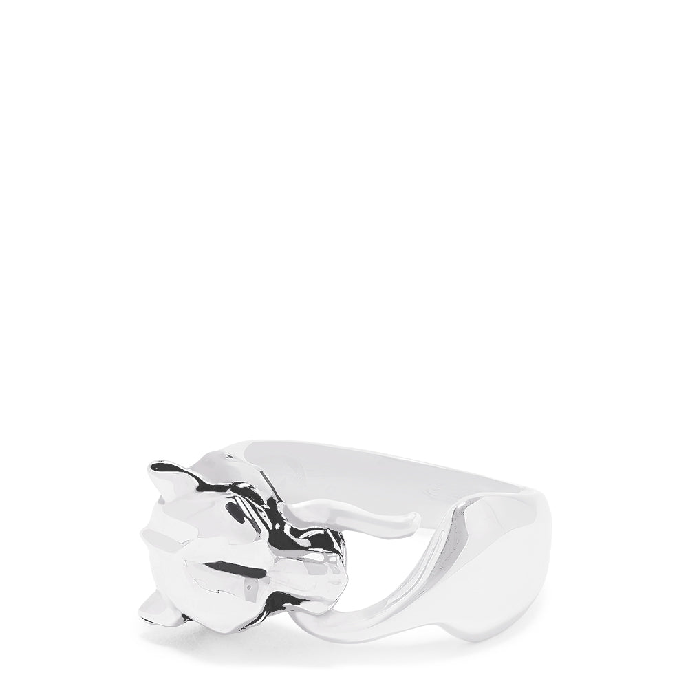 Effy Men's Sterling Silver Signature Panther Ring