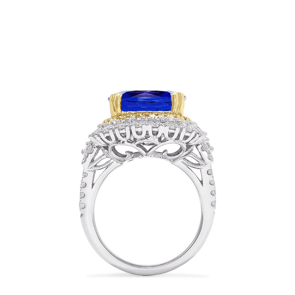 Effy Hematian 18K Gold Tanzanite, Yellow and White Diamond