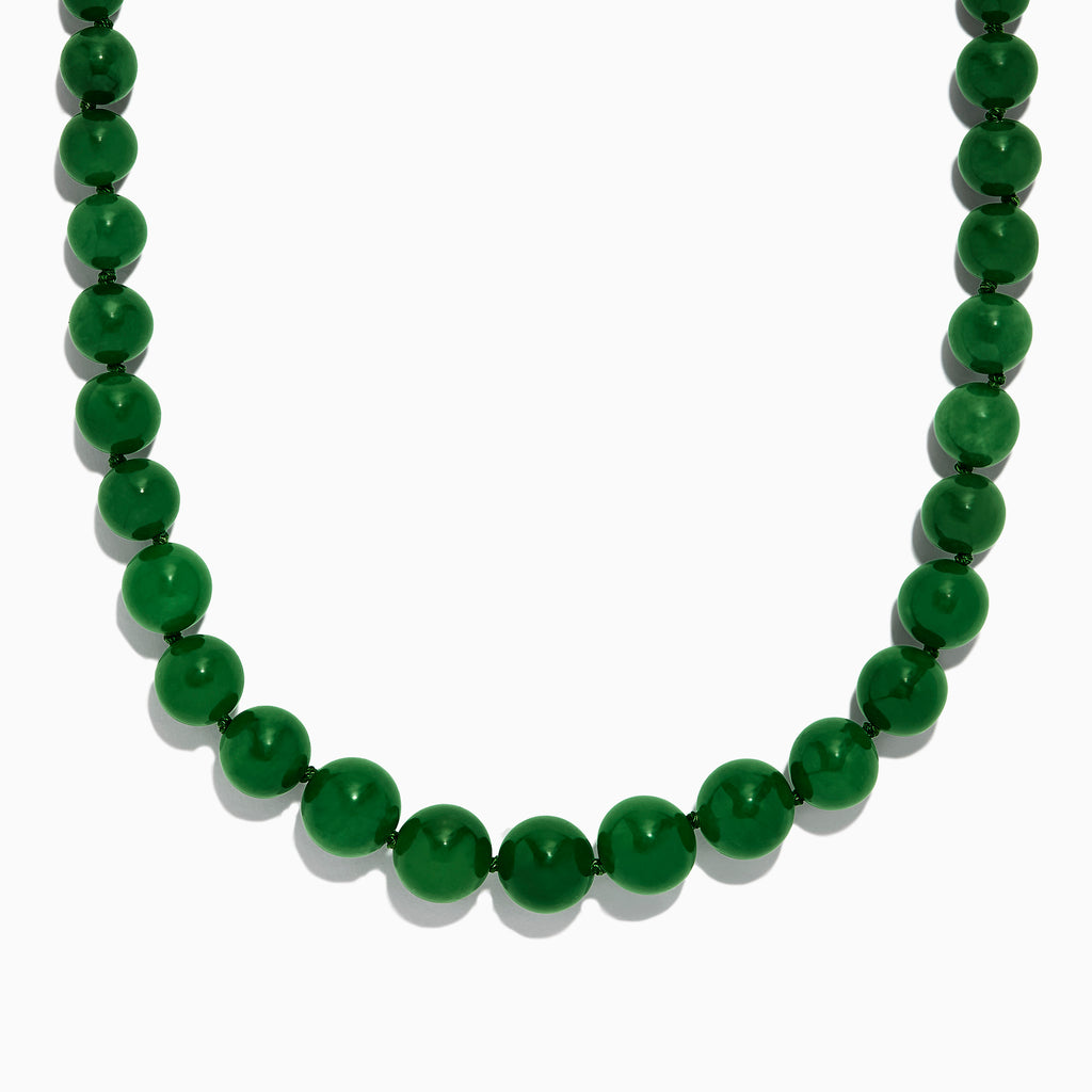 Effy 14K Yellow Gold Jade Necklace, 339.00 TW