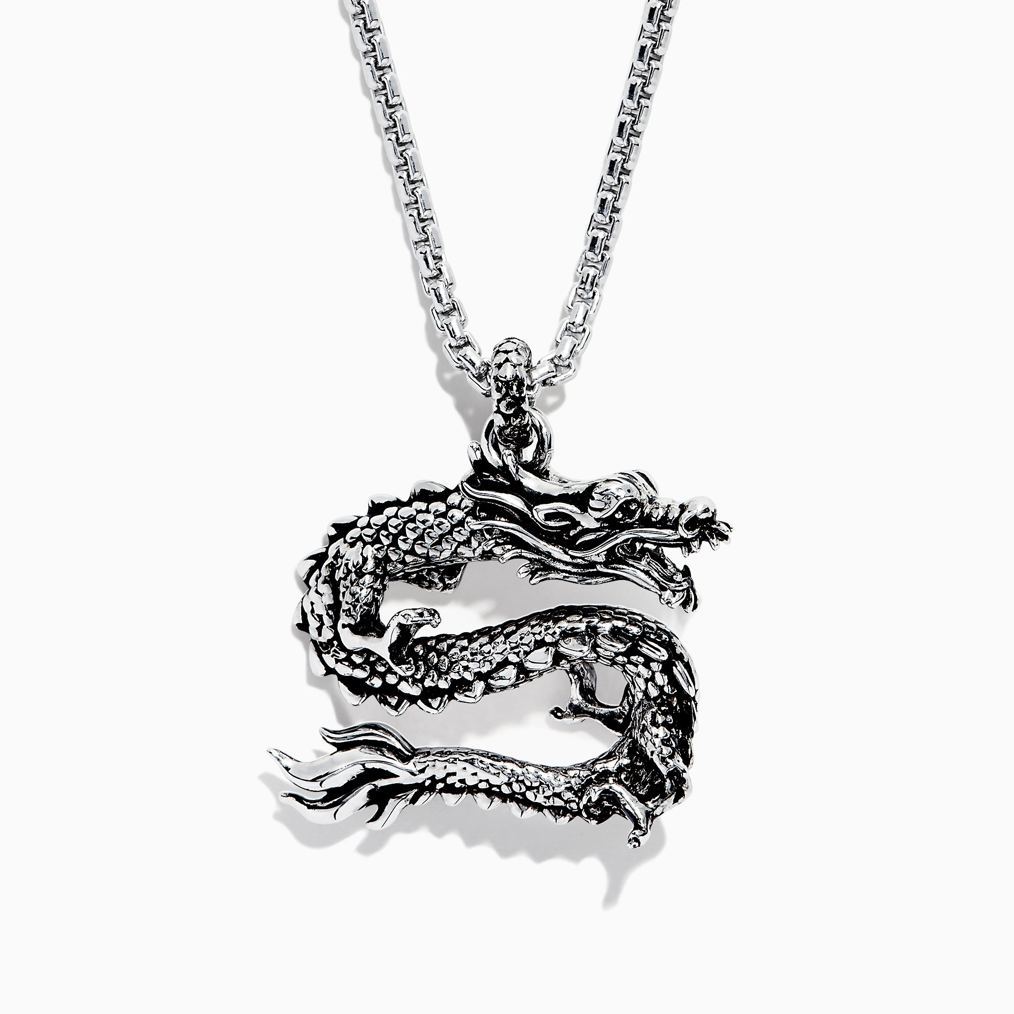 Effy Men's Sterling Silver Dragon Pendant