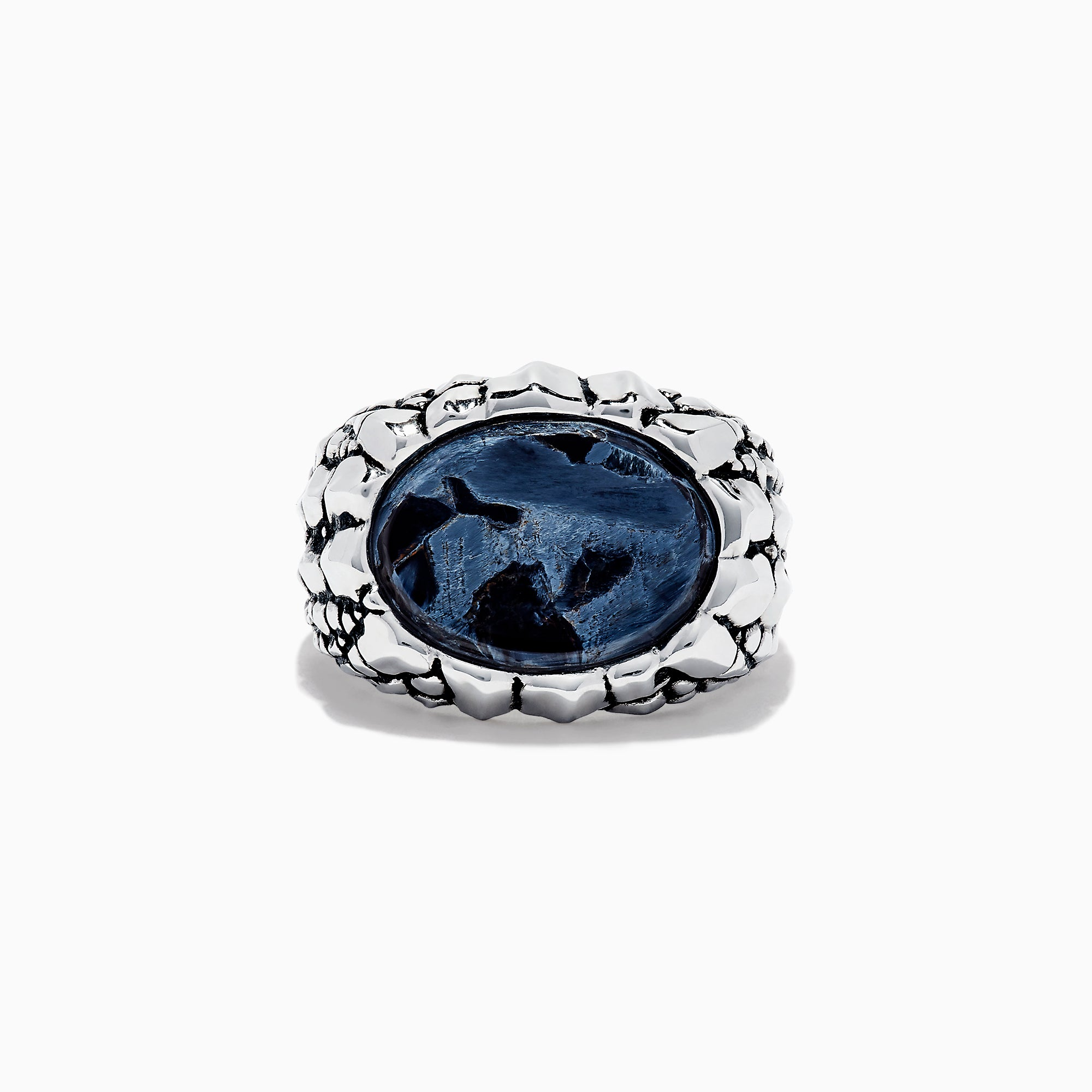 Effy Men's Sterling Silver Pietersite Ring, 6.00 TCW