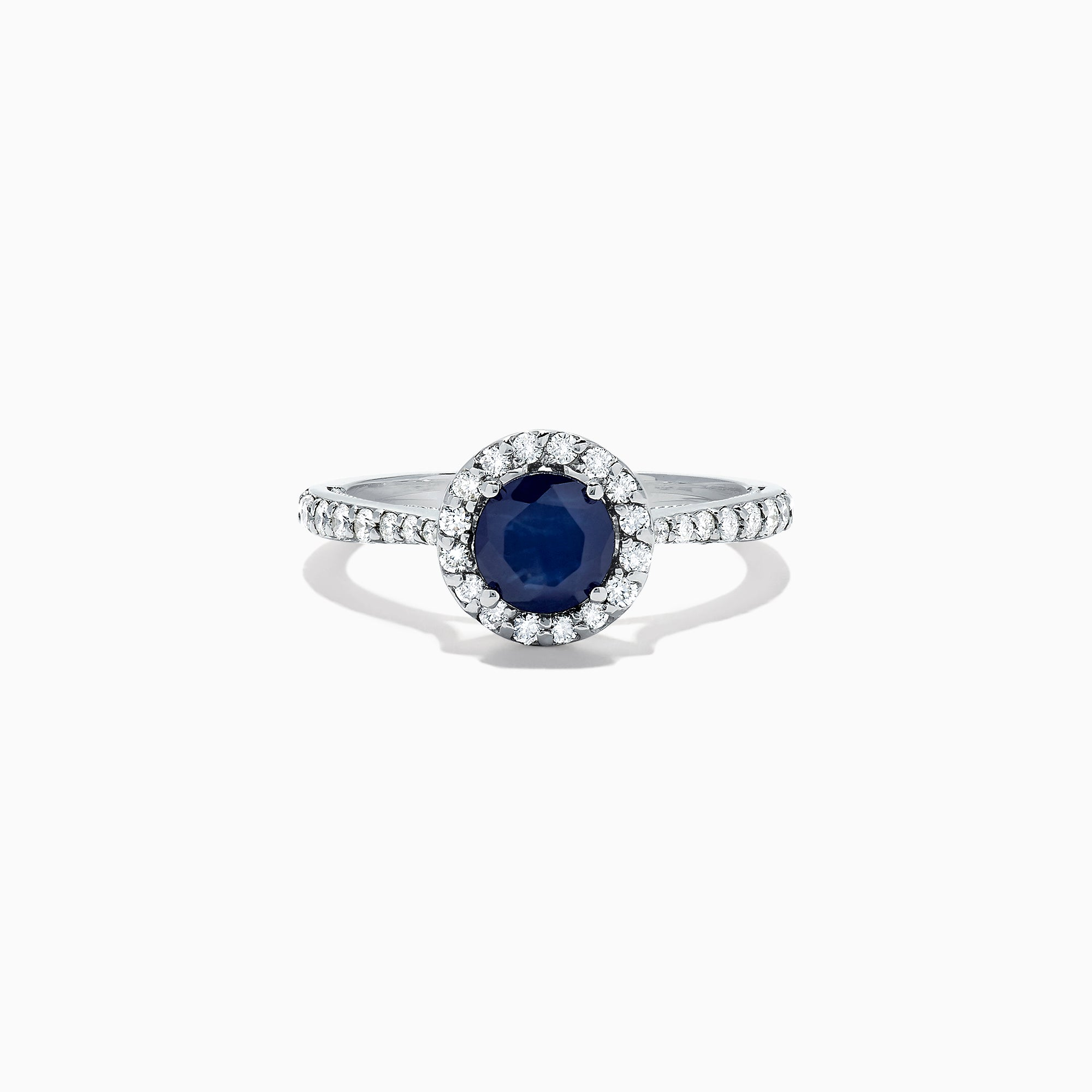 Effy Royale Bleu 14K White Gold Sapphire and Diamond Ring, 1.36 TCW