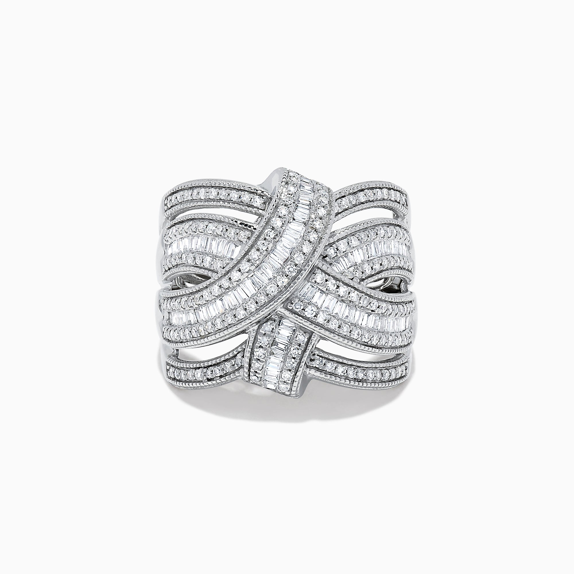 Effy Classique 14K White Gold Diamond Ring, 0.93 TCW