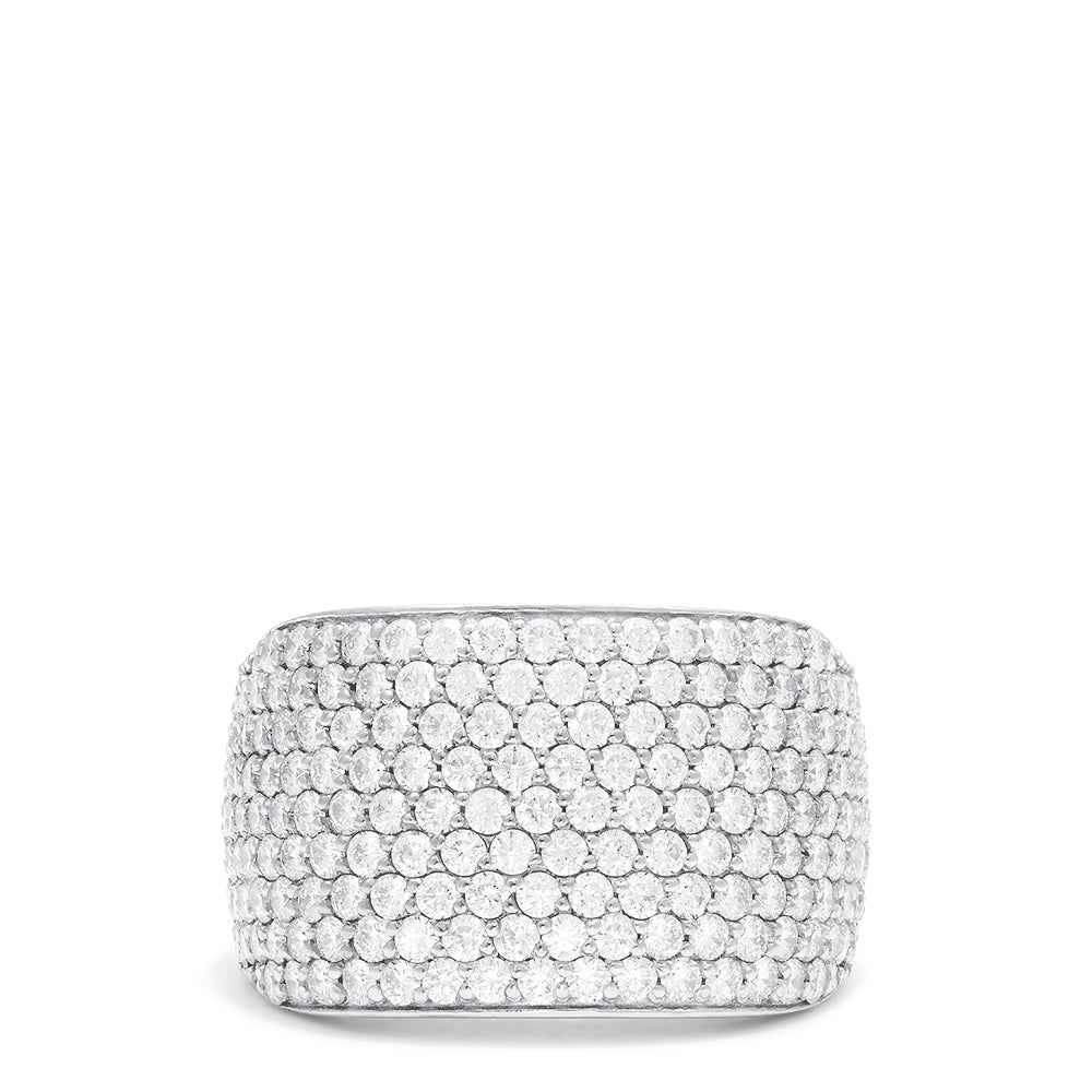 Effy Duo 14K Rose and White Gold Diamond Pave Ring, 2.78 TCW