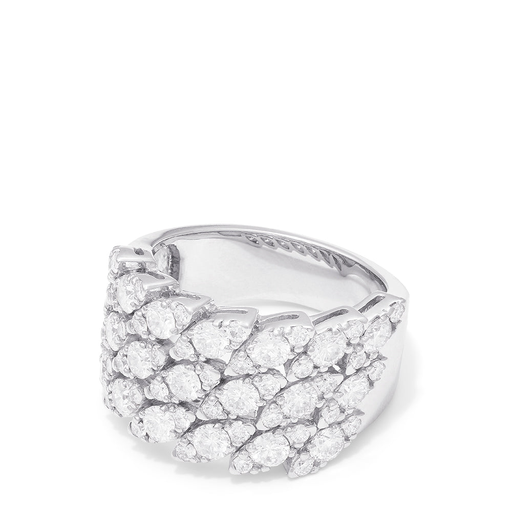 Effy Hematian 18K White Gold Diamond Ring, 2.68 TCW