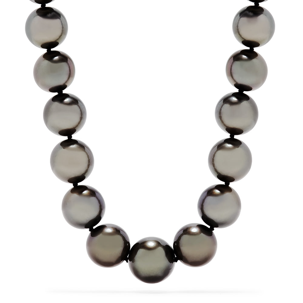 Effy 14K White Gold Cultured Tahitian Pearl Necklace
