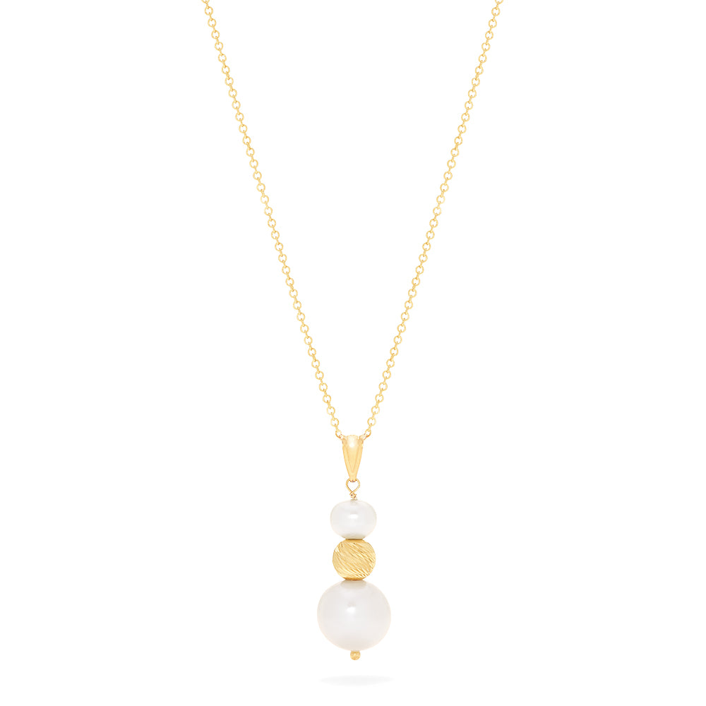 Effy 14K Yellow Gold Cultured Fresh Water Pearl Pendant