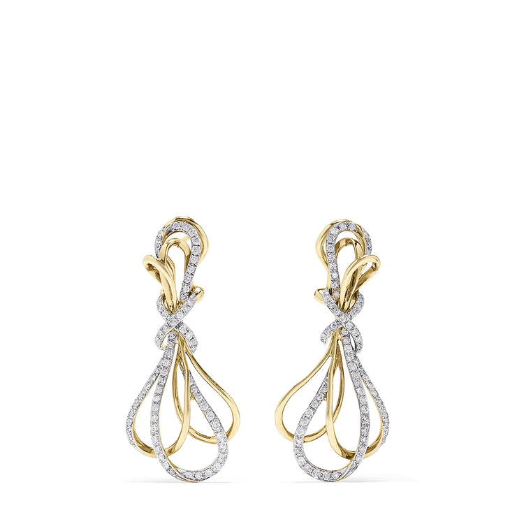Effy 14K Yellow Gold Diamond Earrings, 0.81 TCW
