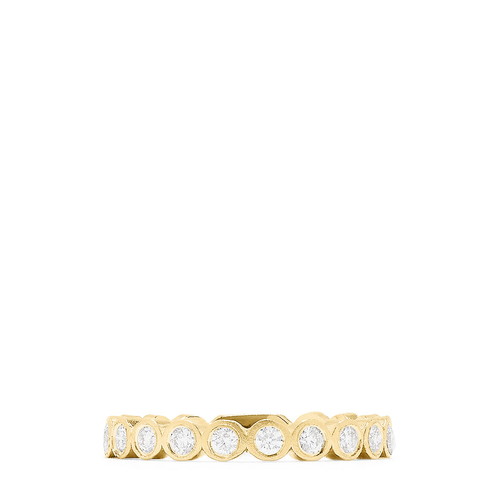 Effy D'Oro 14K Yellow Gold Diamond Ring, 0.29 TCW