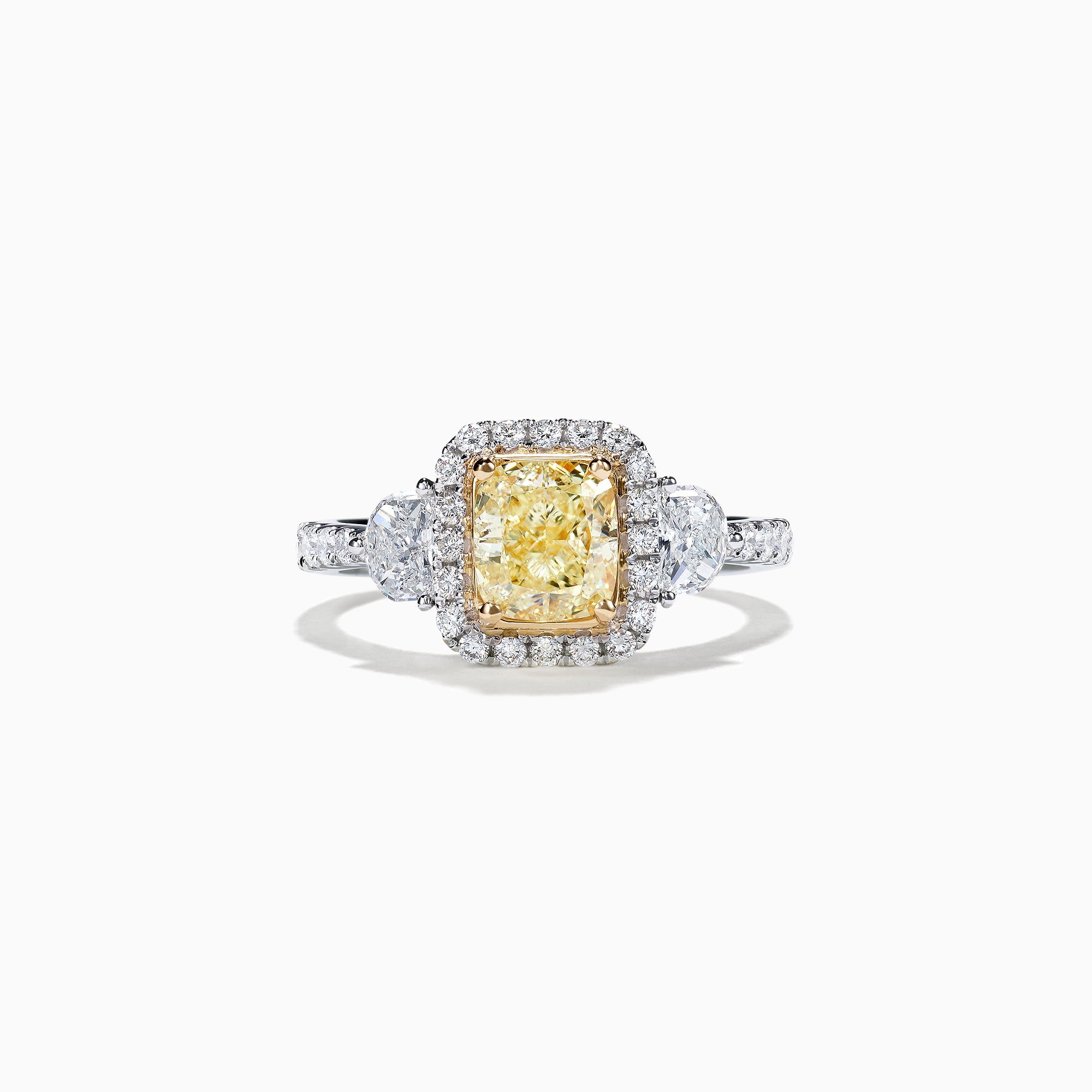 Effy Canare 18K Two-Tone Gold Yellow & White Gold Diamond Ring, 2.19 TCW