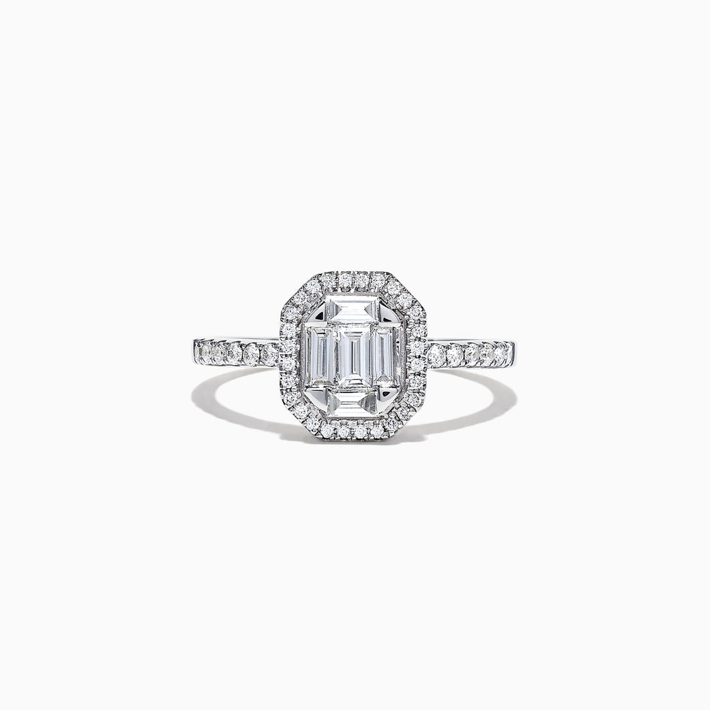 Effy Classique 14K White Gold Diamond Ring, 0.50 TCW