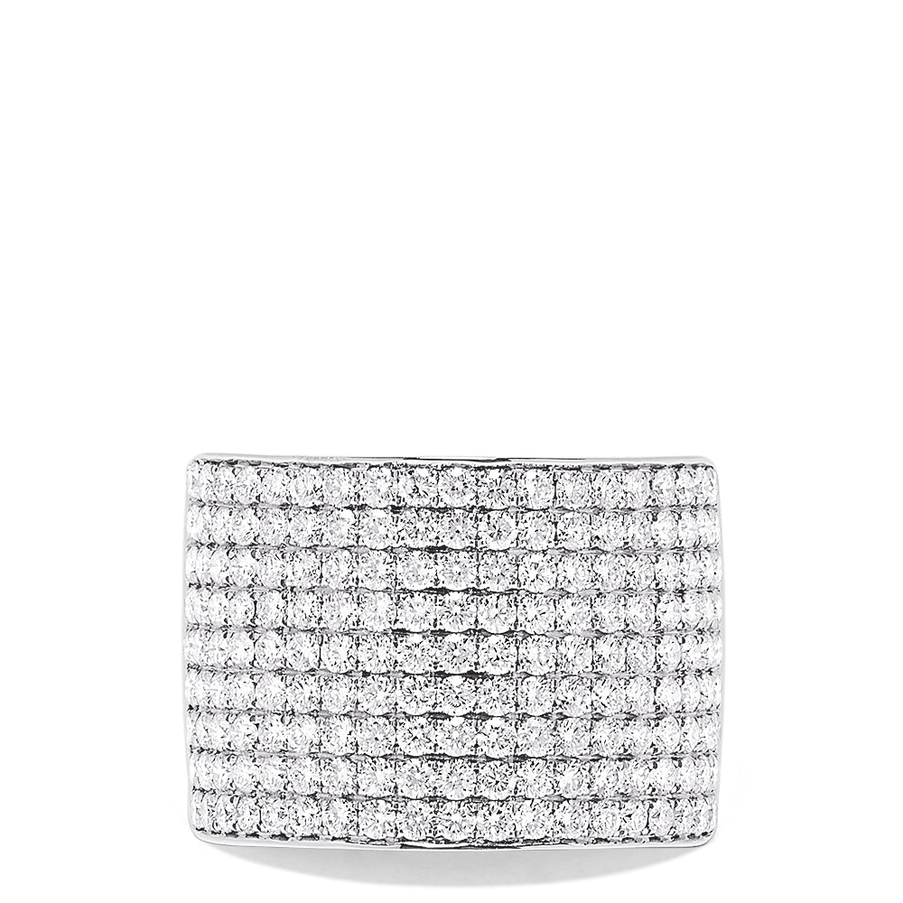 Effy Pave Classica 14K White Gold Diamond Ring, 2.18 TCW