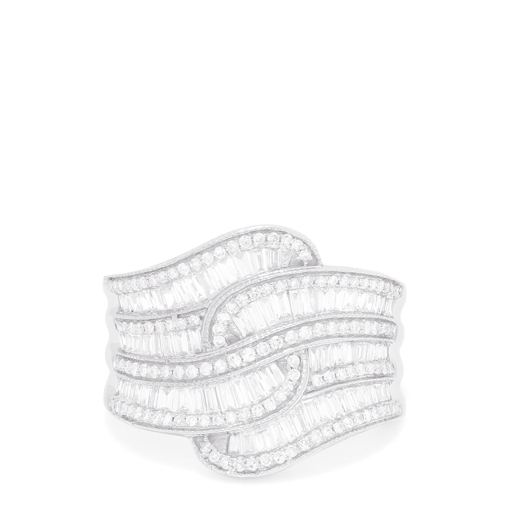 Effy Classique 14K White Gold Diamond Ring, 1.26 TCW
