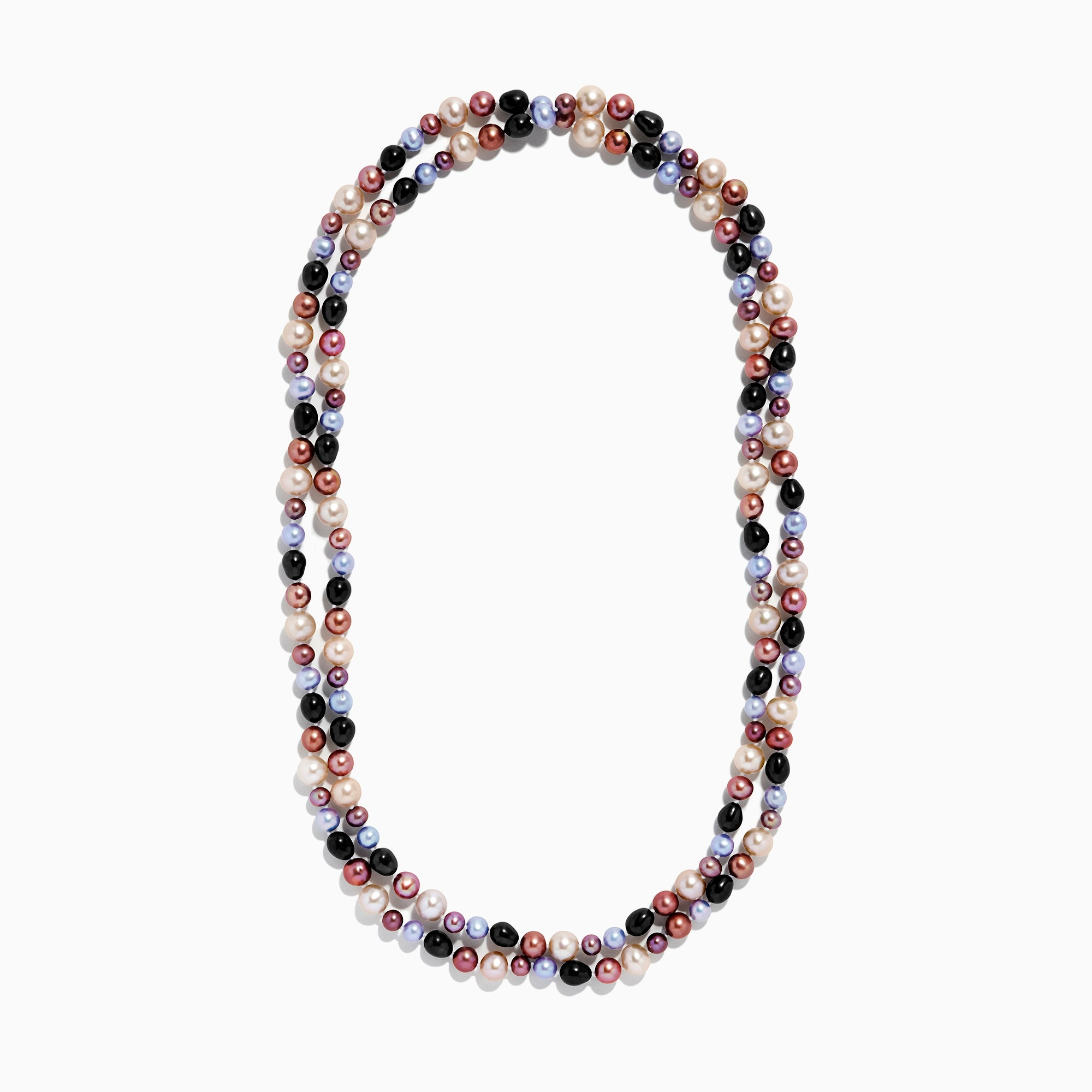 "Effy Multi Color Cultured Pearl 48"" Necklace"