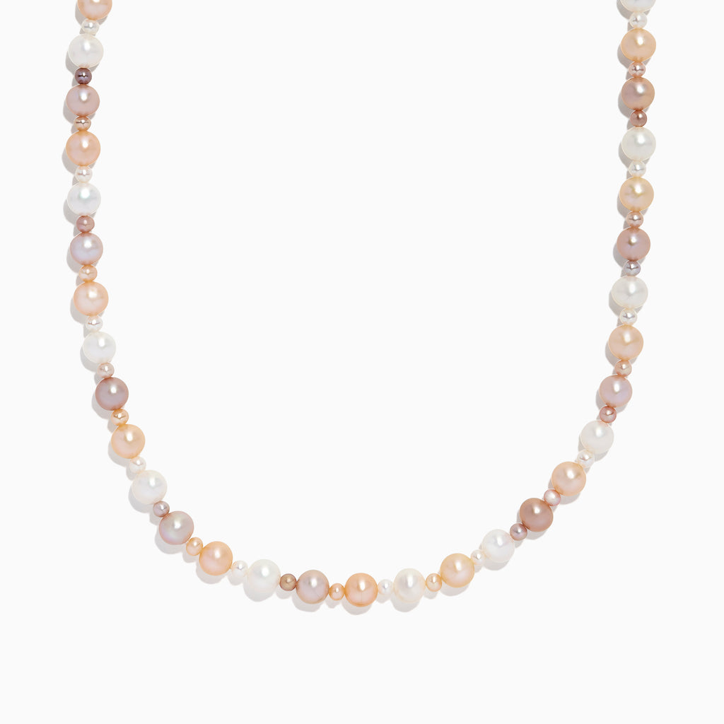 Effy Multi Color Cultured Fresh Water Pearl Necklace