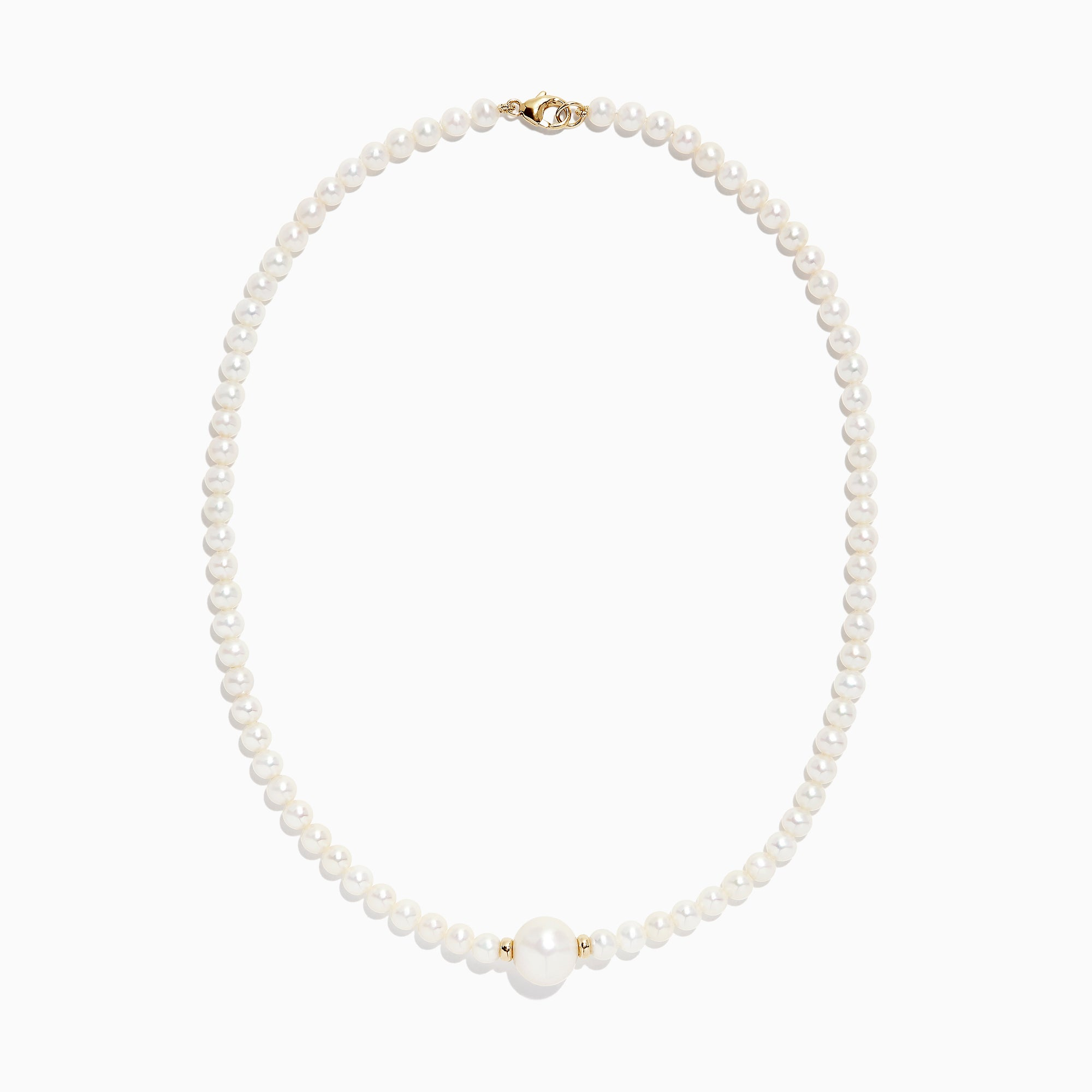 Effy 14K Yellow Gold Cultured Fresh Water Pearl Choker Necklace