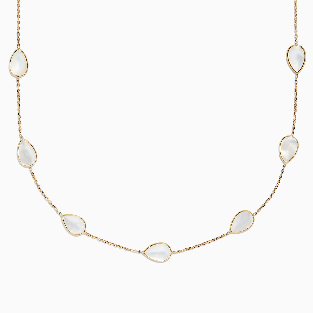 Effy 14K Yellow Gold Mother of Pearl Necklace