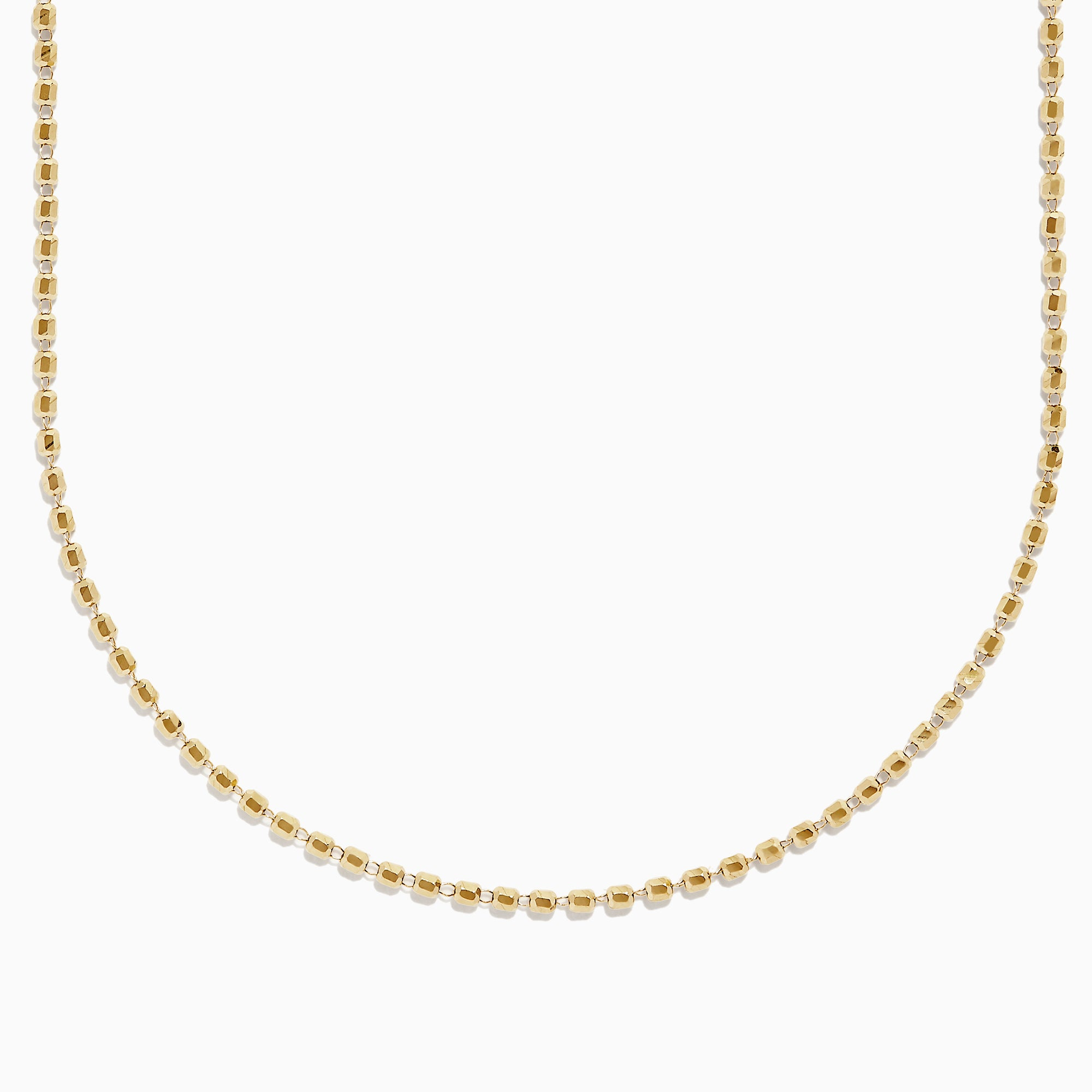 Effy 14K Yellow Gold Bead Necklace