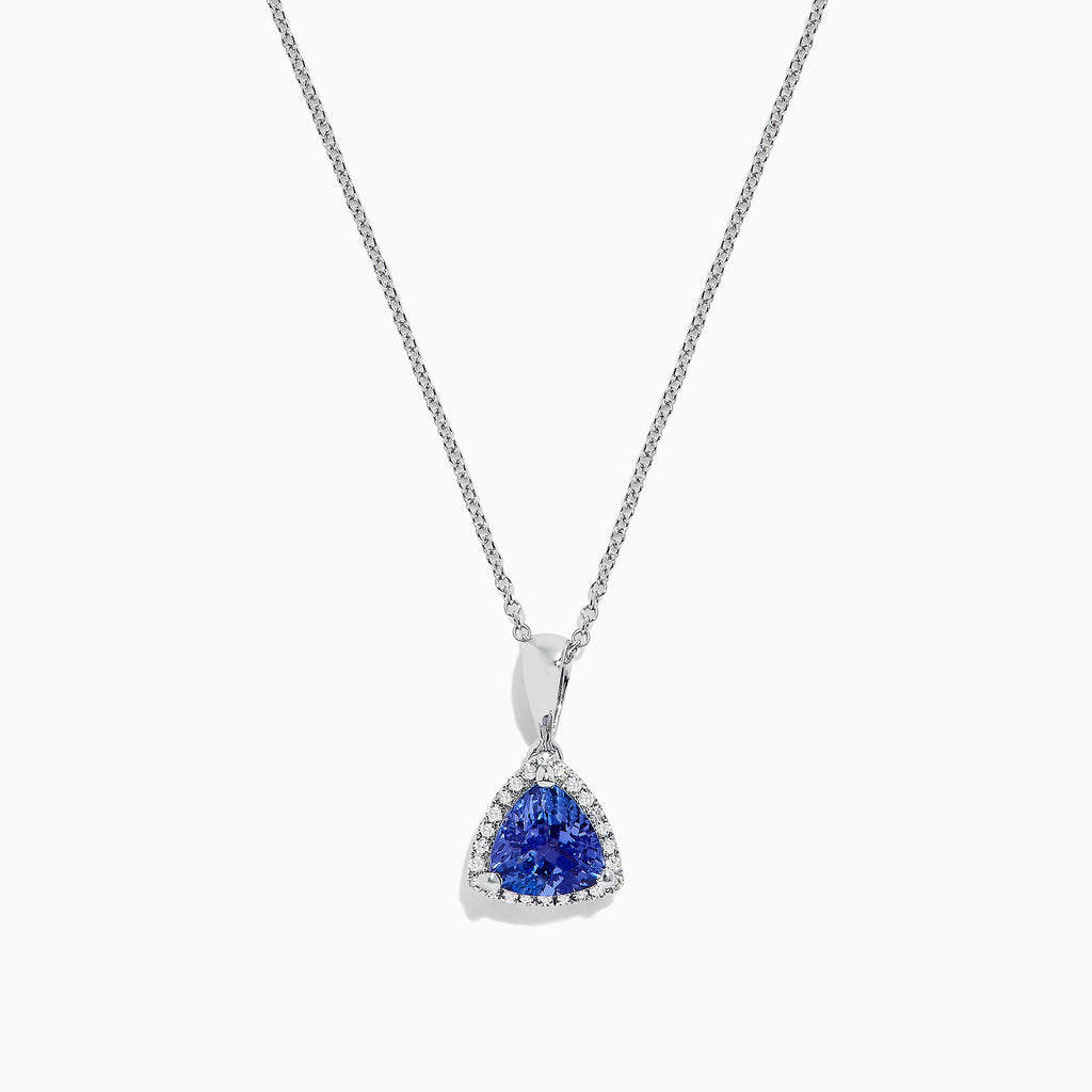Effy Tanzanite Royale 14K Gold Tanzanite and Diamond Pendant, 1.82 TCW