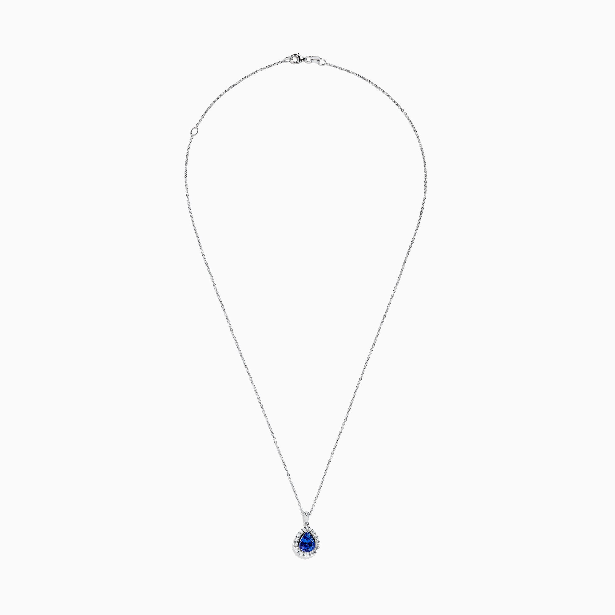 Effy Tanzanite Royale 14K Gold Tanzanite and Diamond Pendant, 1.97 TCW