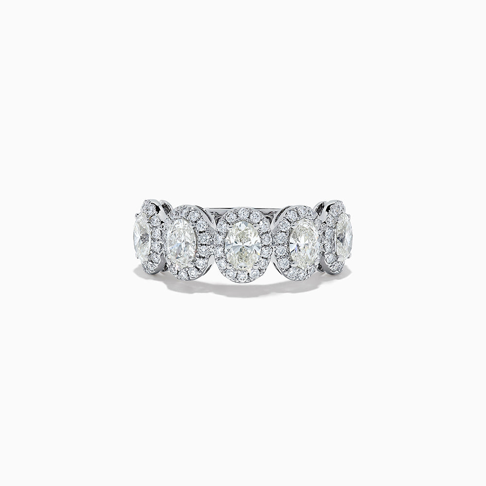 18K White Gold Diamond Ring, 2.16 TCW