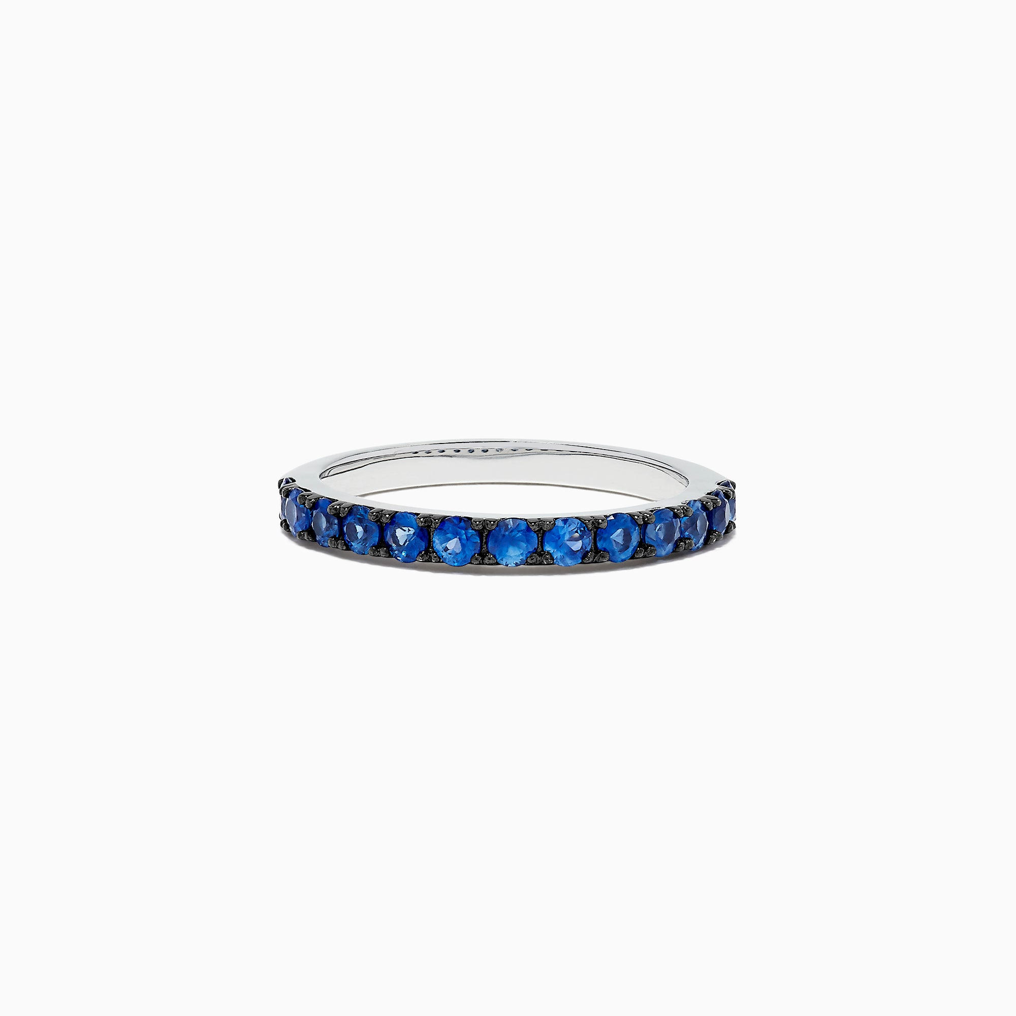 Effy 925 Sterling Silver Sapphire Band, 0.85 TCW