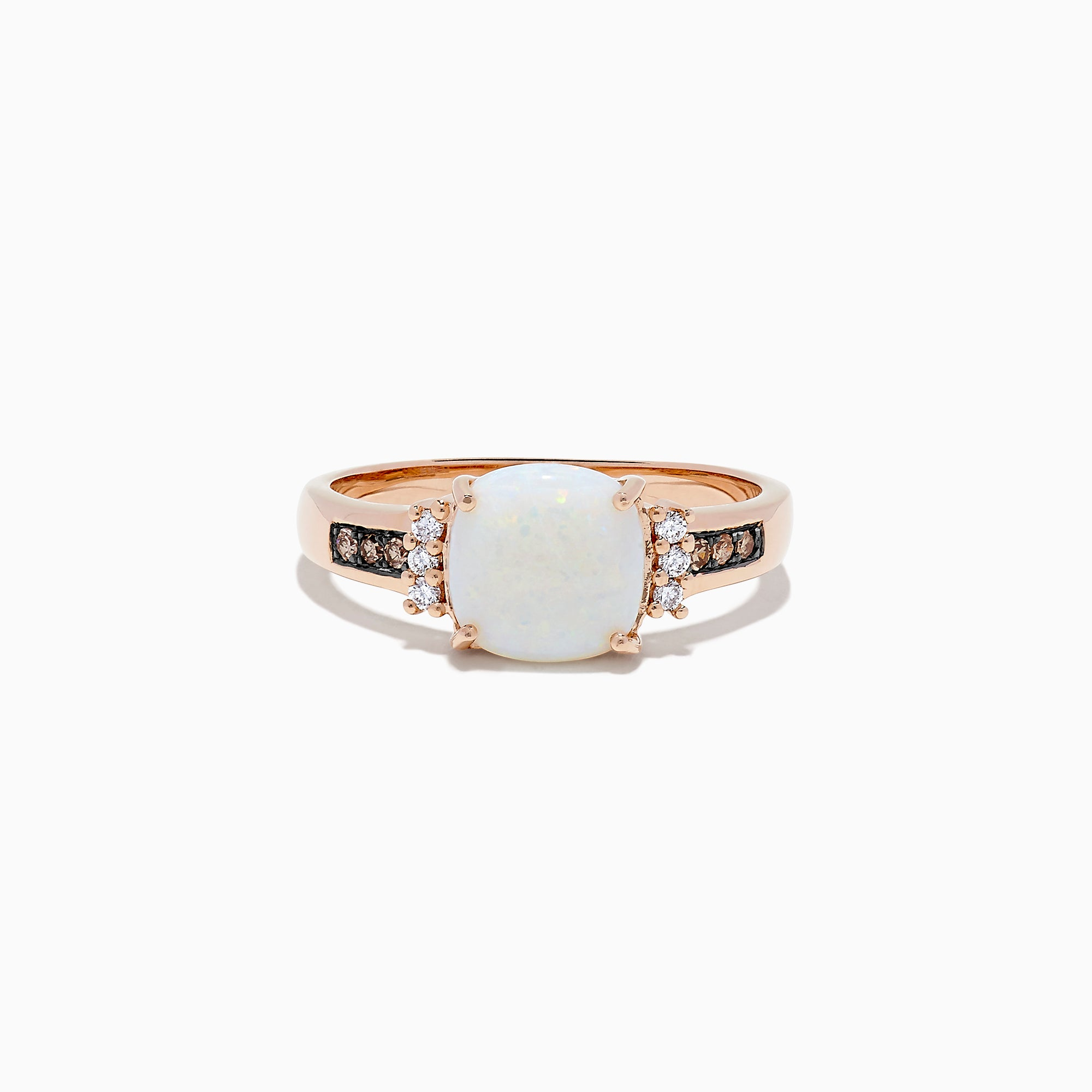 Effy 14K Yellow Gold Opal and Diamond Ring, 1.27 TCW