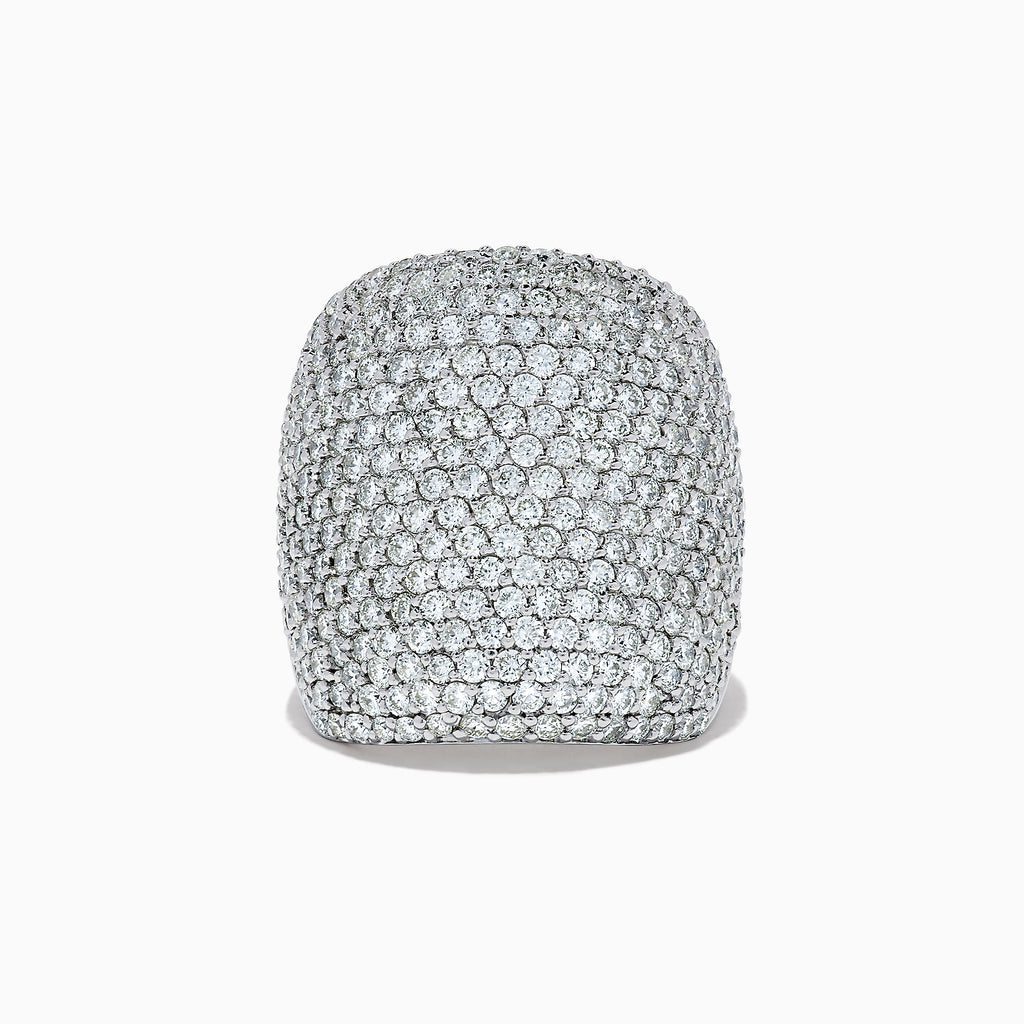 Effy Pave Classica 14K White Gold Diamond Pave Ring, 4.05 TCW