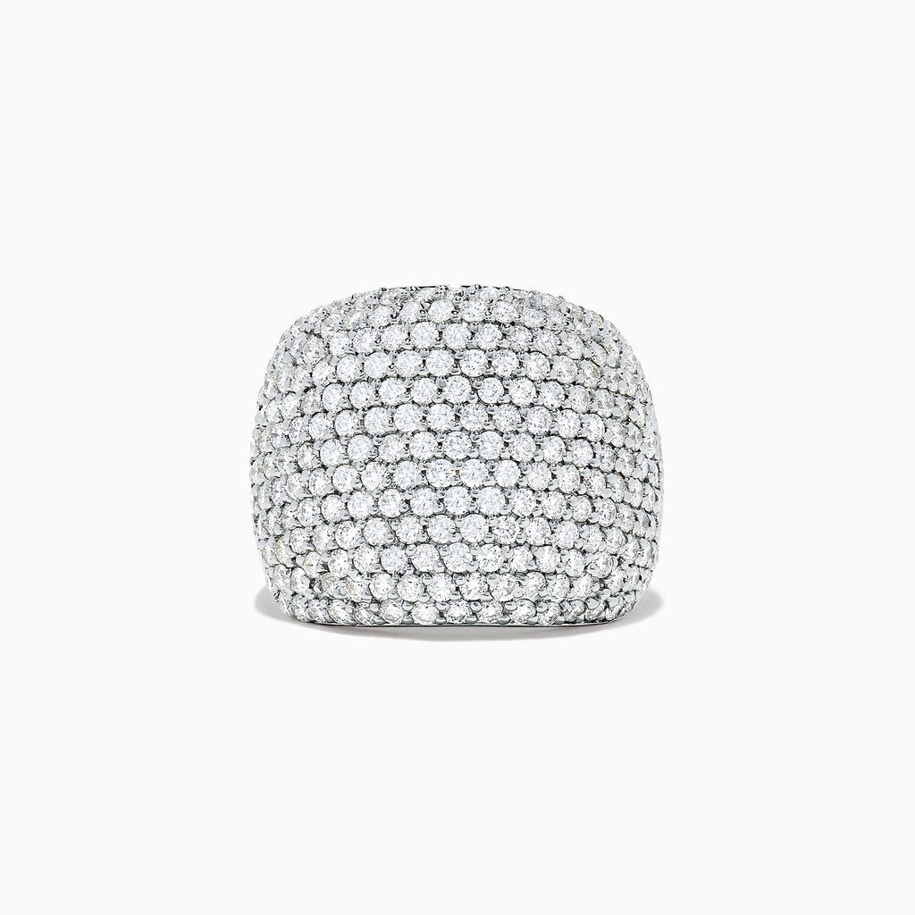 Effy Pave Classica 14K White Gold Diamond Ring, 2.41 TCW