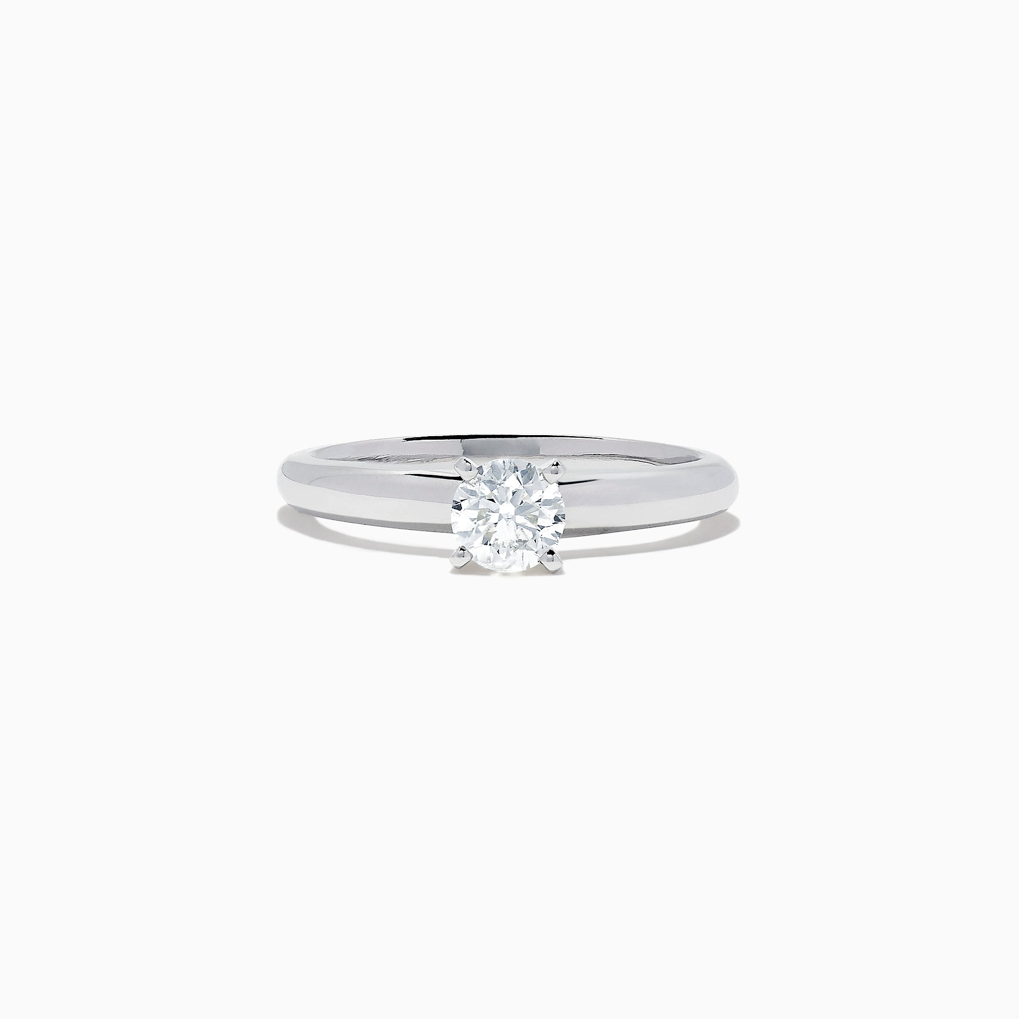 Effy Bridal 14K White Gold Diamond Solitaire Ring, 0.50 TCW