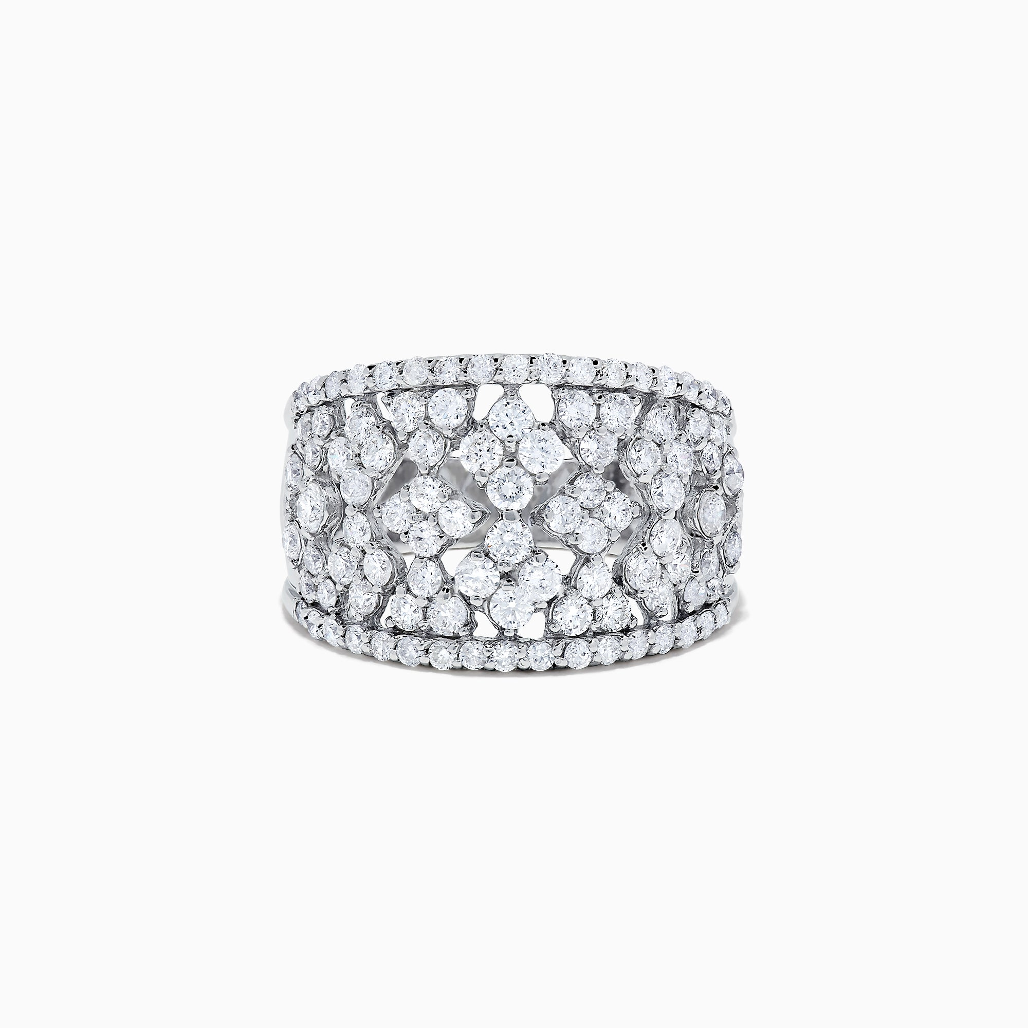 Effy 14K White Gold Diamond Ring, 2.10 TCW