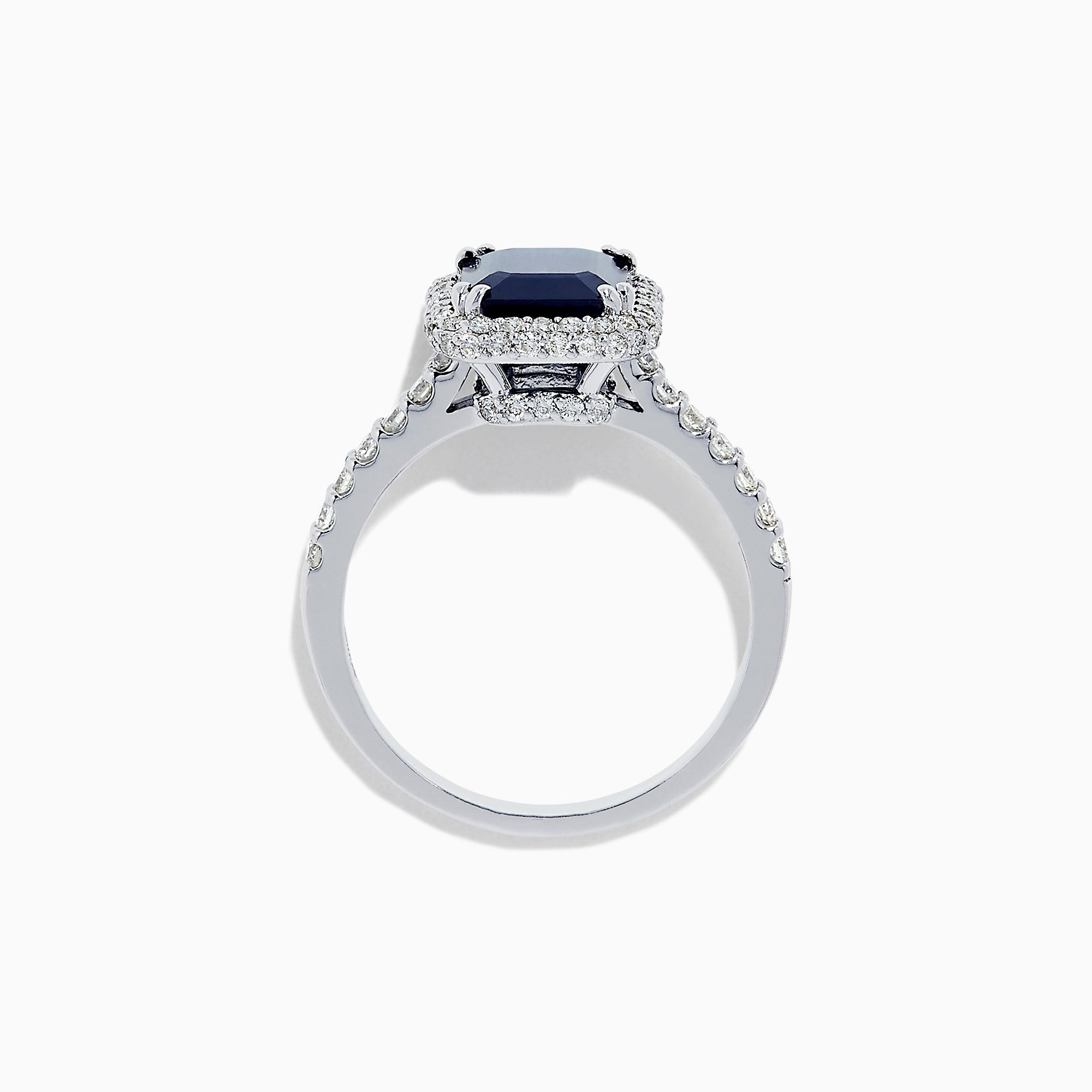 Effy Royale Bleu 14K White Gold Sapphire and Diamond Ring, 2.95 TCW