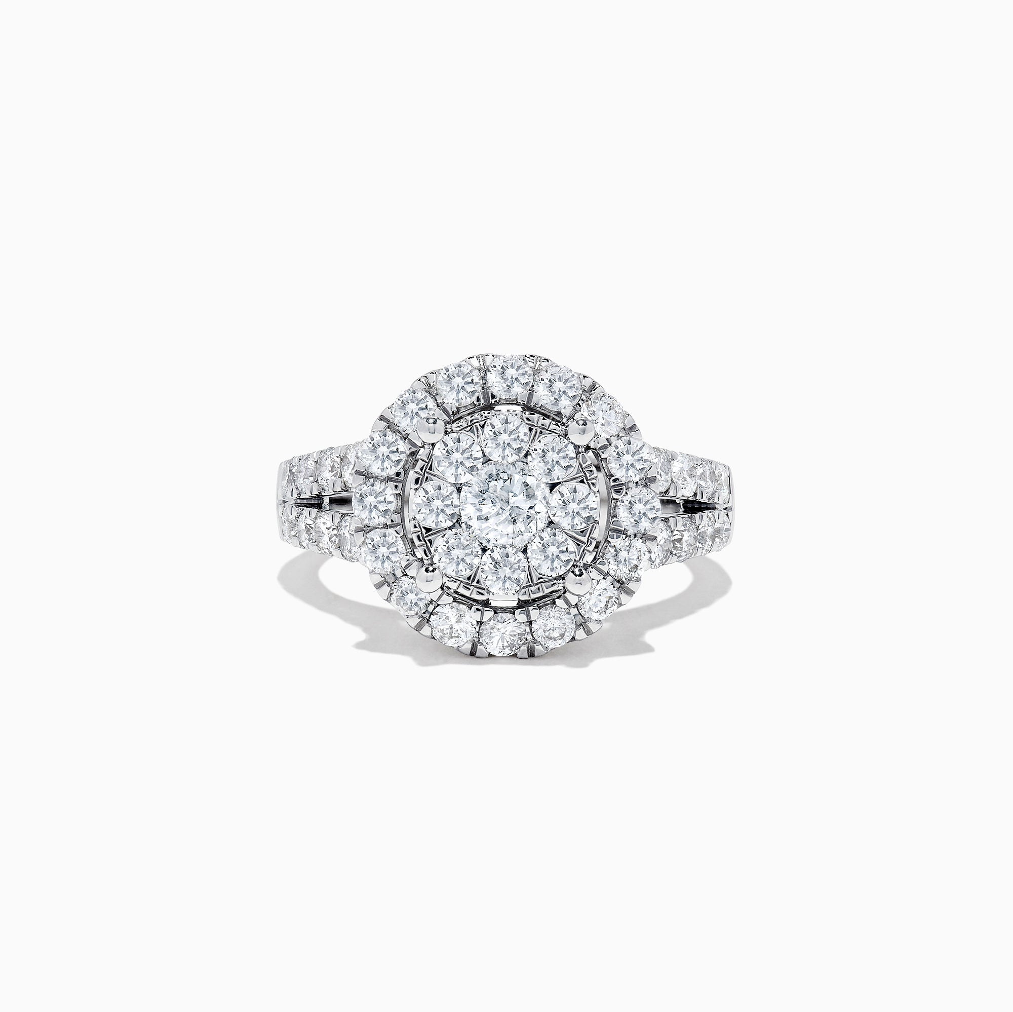 Effy Bouquet 14K White Gold Diamond Cluster Ring, 1.94 TCW