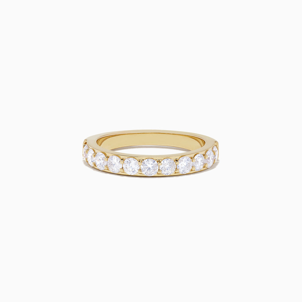 Effy D'Oro 14K Yellow Gold Prong Set Diamond Ring, 1.00 TCW