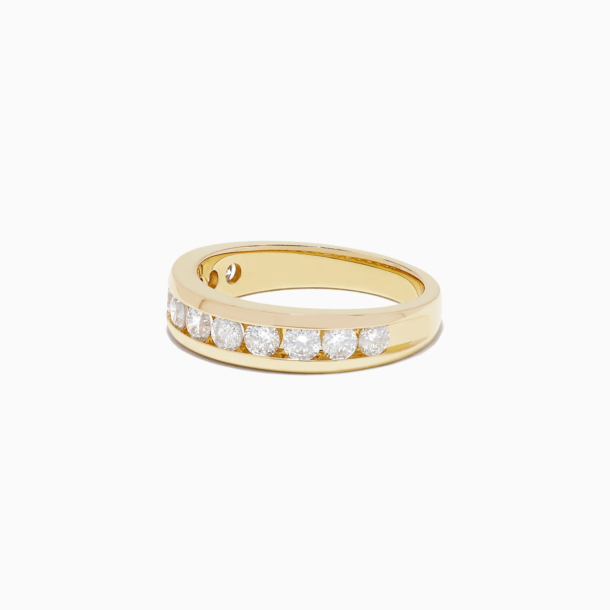 Effy D'Oro 14K Yellow Gold Channel Set Diamond Ring, 0.98 TCW