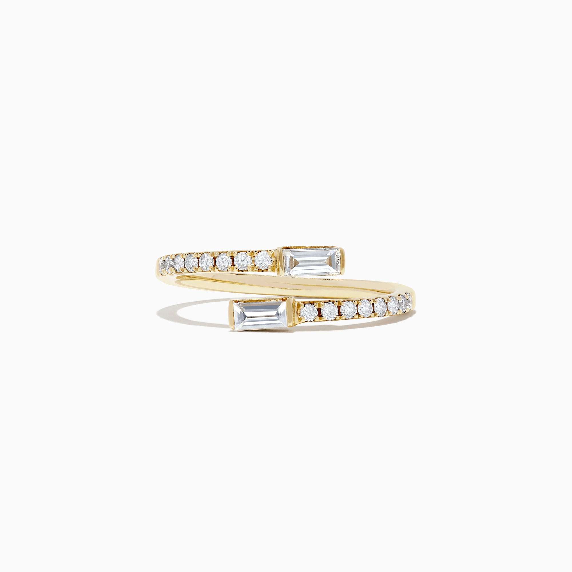 Effy D'Oro 14K Yellow Gold Diamond Ring, 0.46 TCW