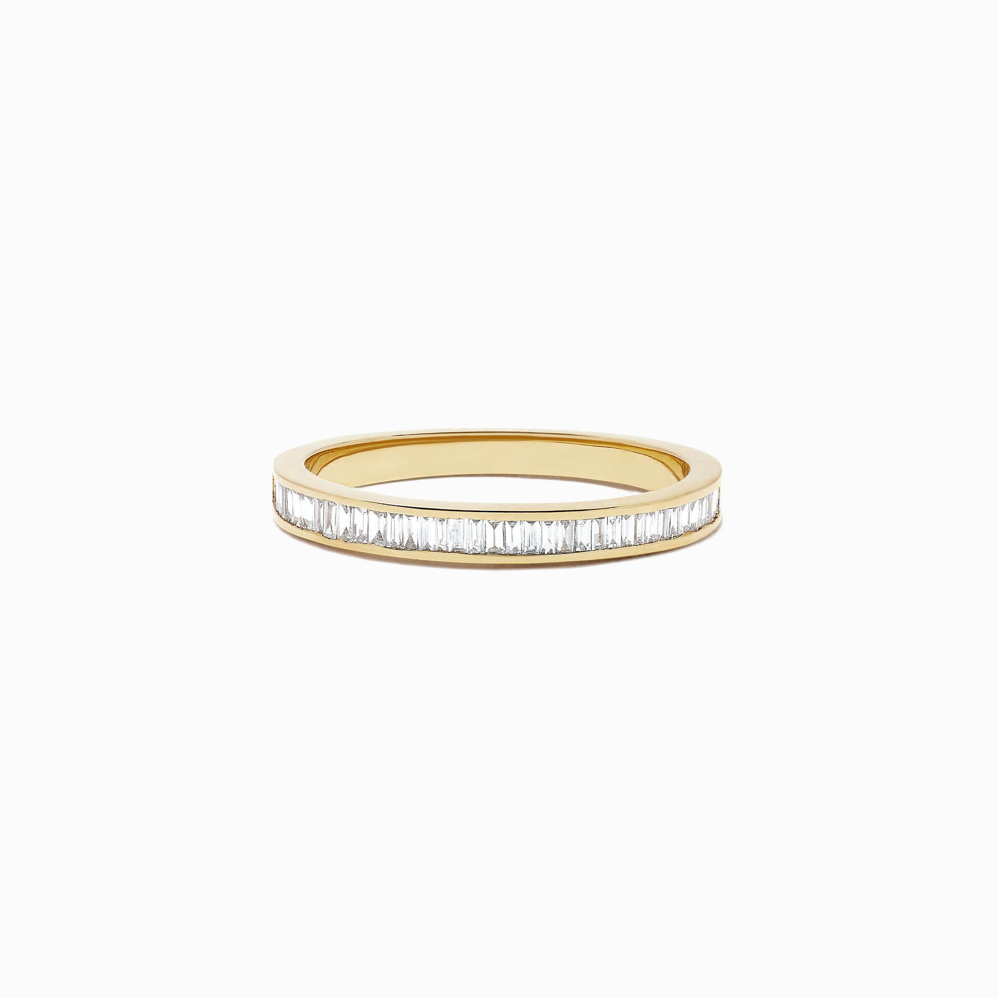 Effy D'Oro 14K Yellow Gold Channel Set Diamond Ring, 0.44 TCW