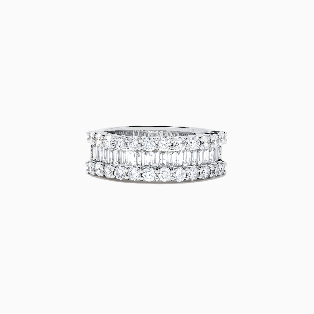 Effy Classique 14K White Gold Diamond Ring, 1.59 TCW