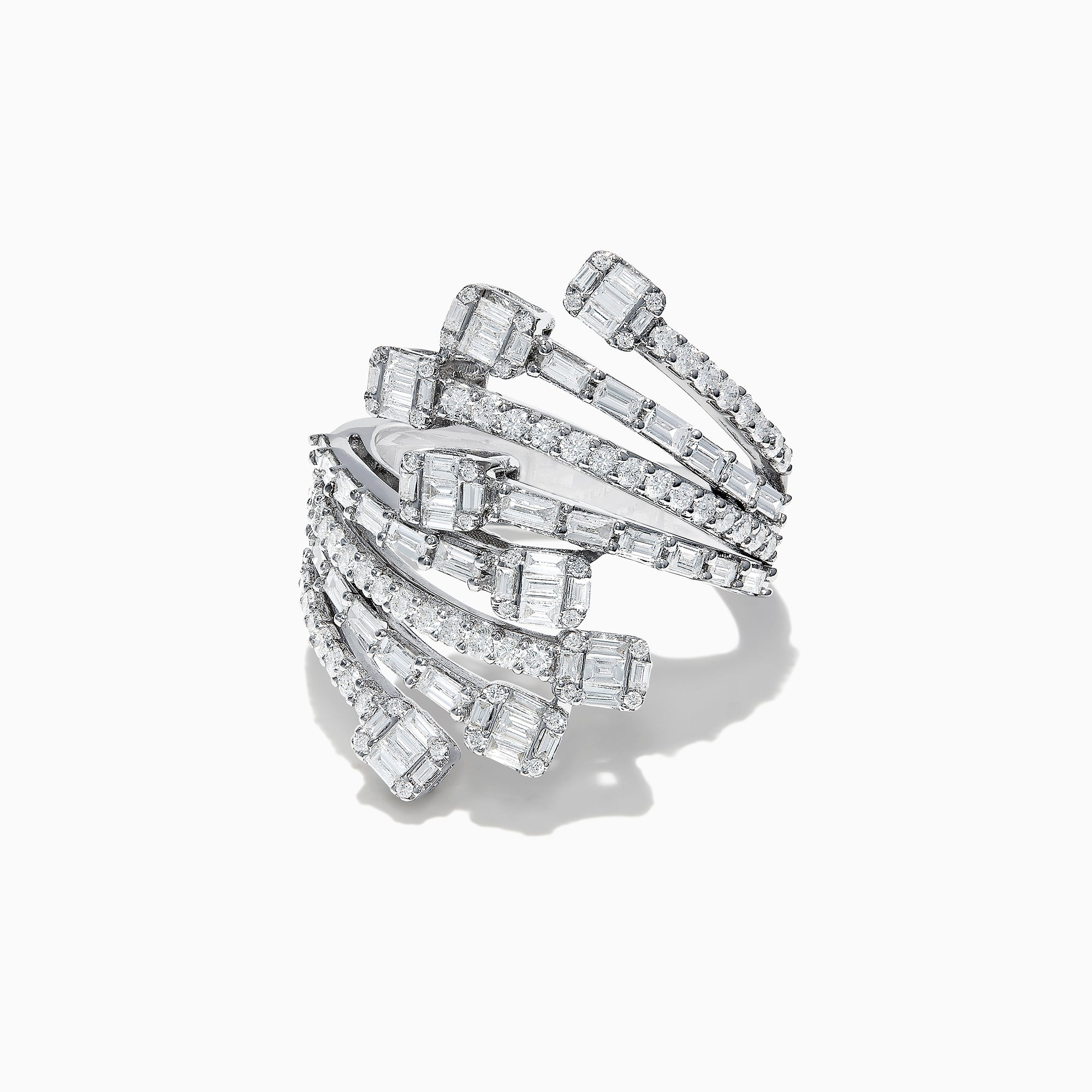 Effy Classique 14K White Gold Diamond Ring, 1.58 TCW