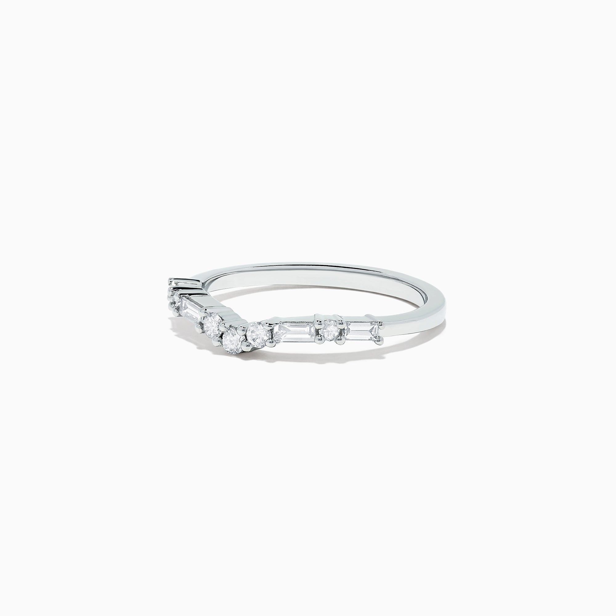 Effy Classique 14K White Gold Diamond Ring, 0.32 TCW