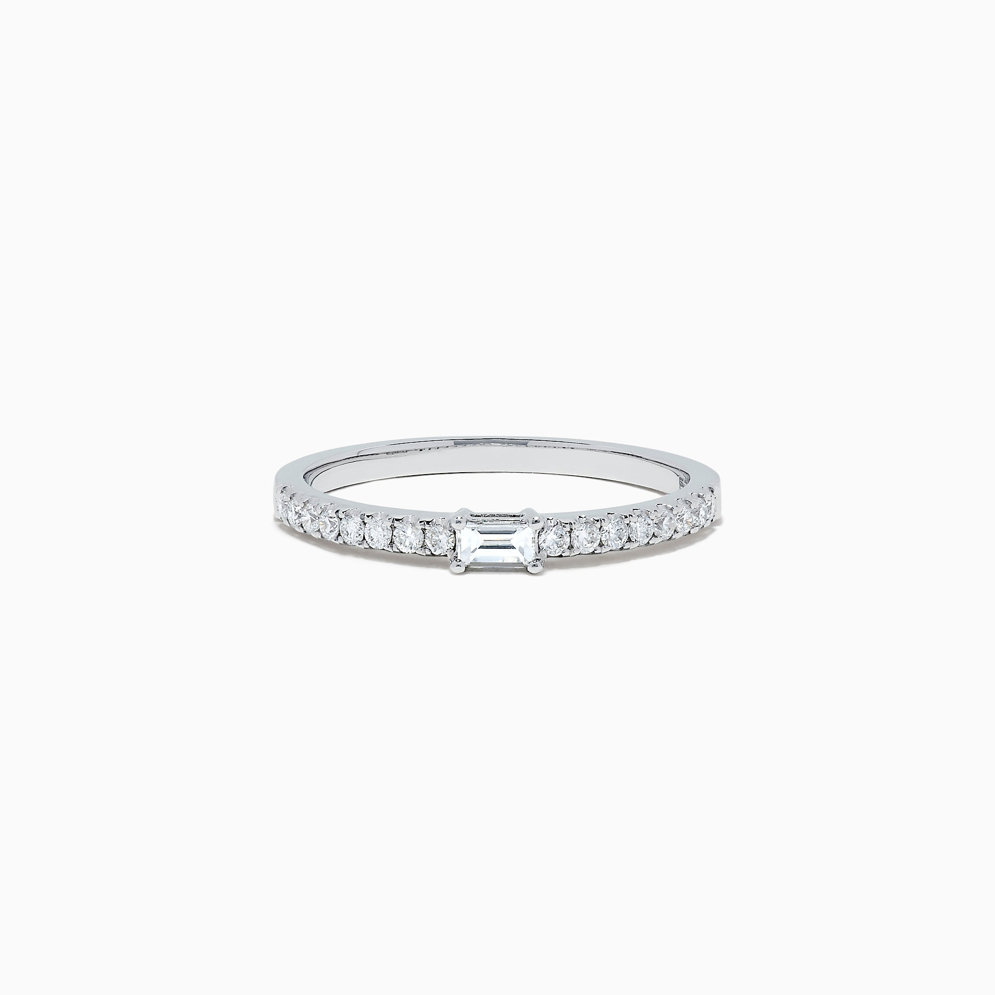 Effy Classique 14K White Gold Diamond Ring, 0.27 TCW
