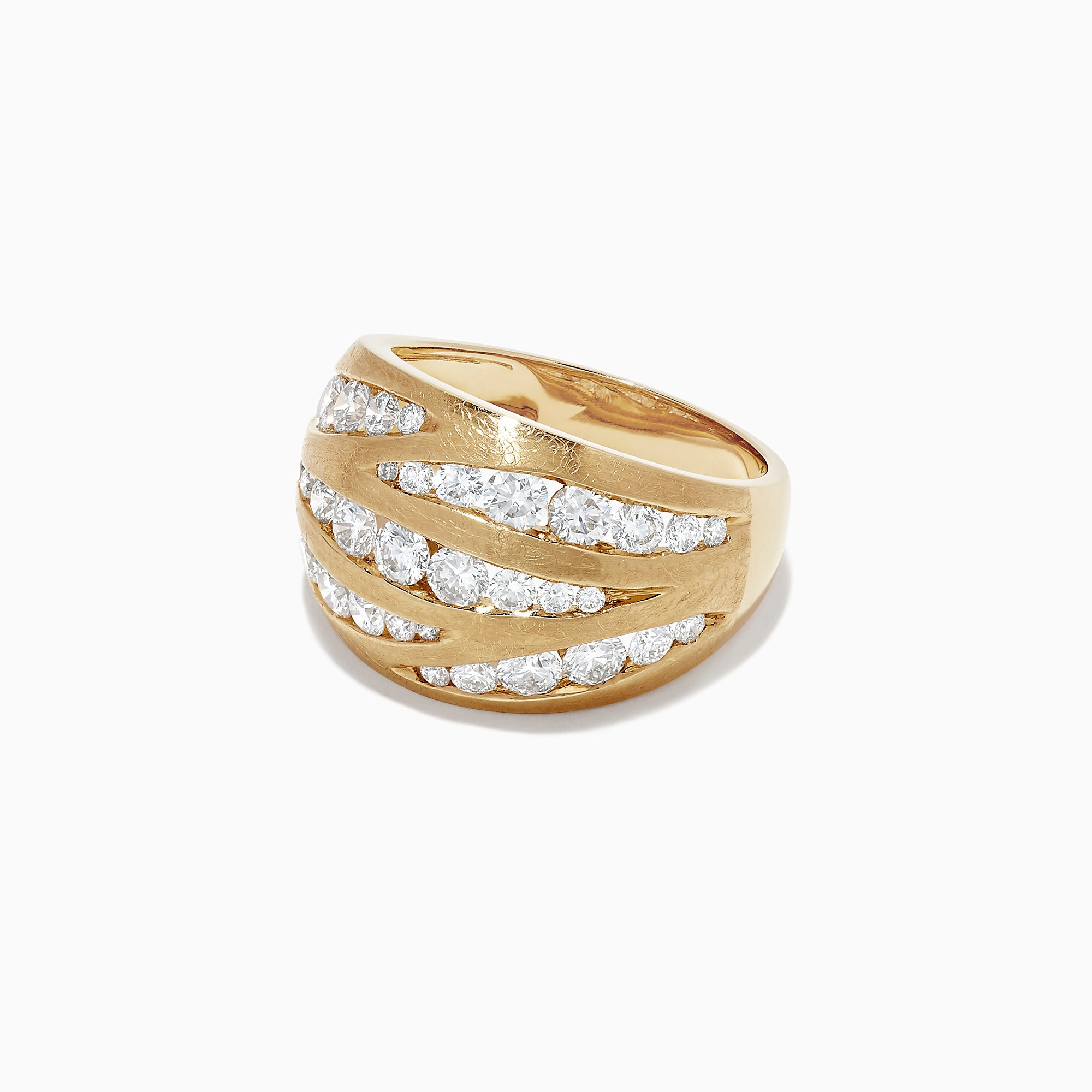 Effy D'Oro 14K Yellow Gold Diamond Ring, 1.74 TCW