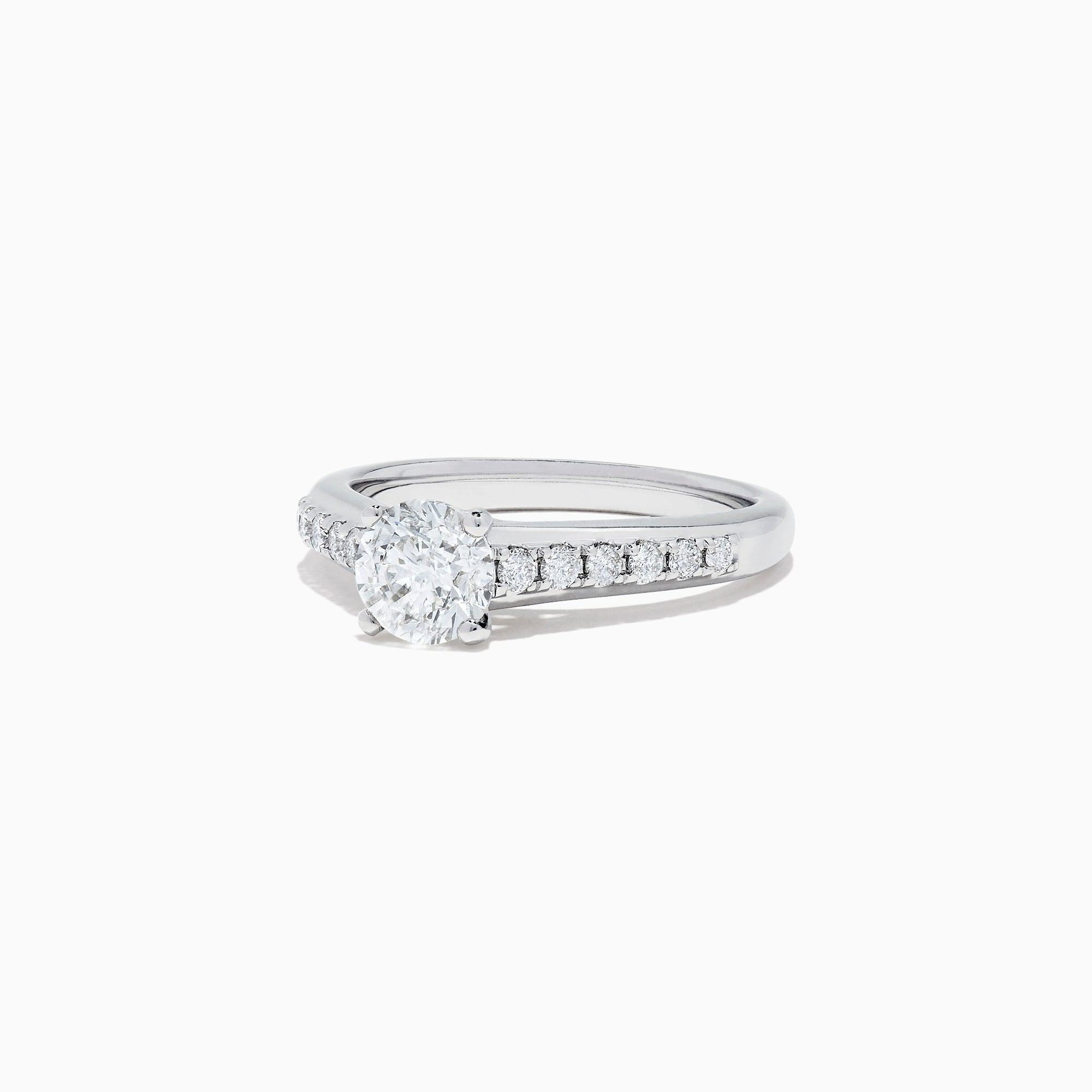 Effy Bridal 18K White Gold Diamond Solitaire Ring, 1.24 TCW