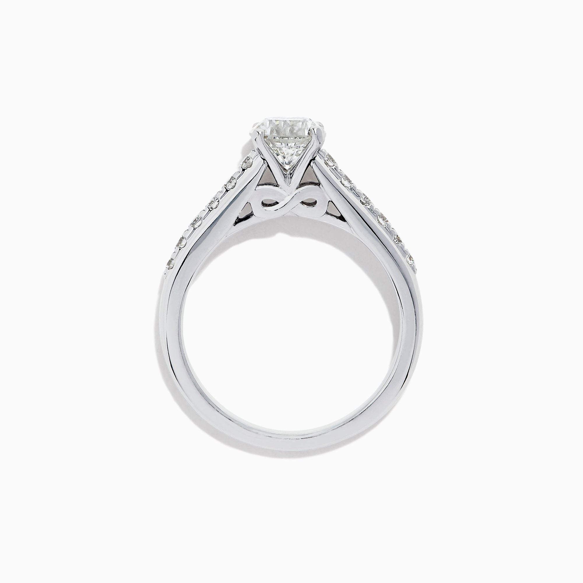 Effy Brida 18K White Gold Diamond Solitaire Ring, 1.24 TCW
