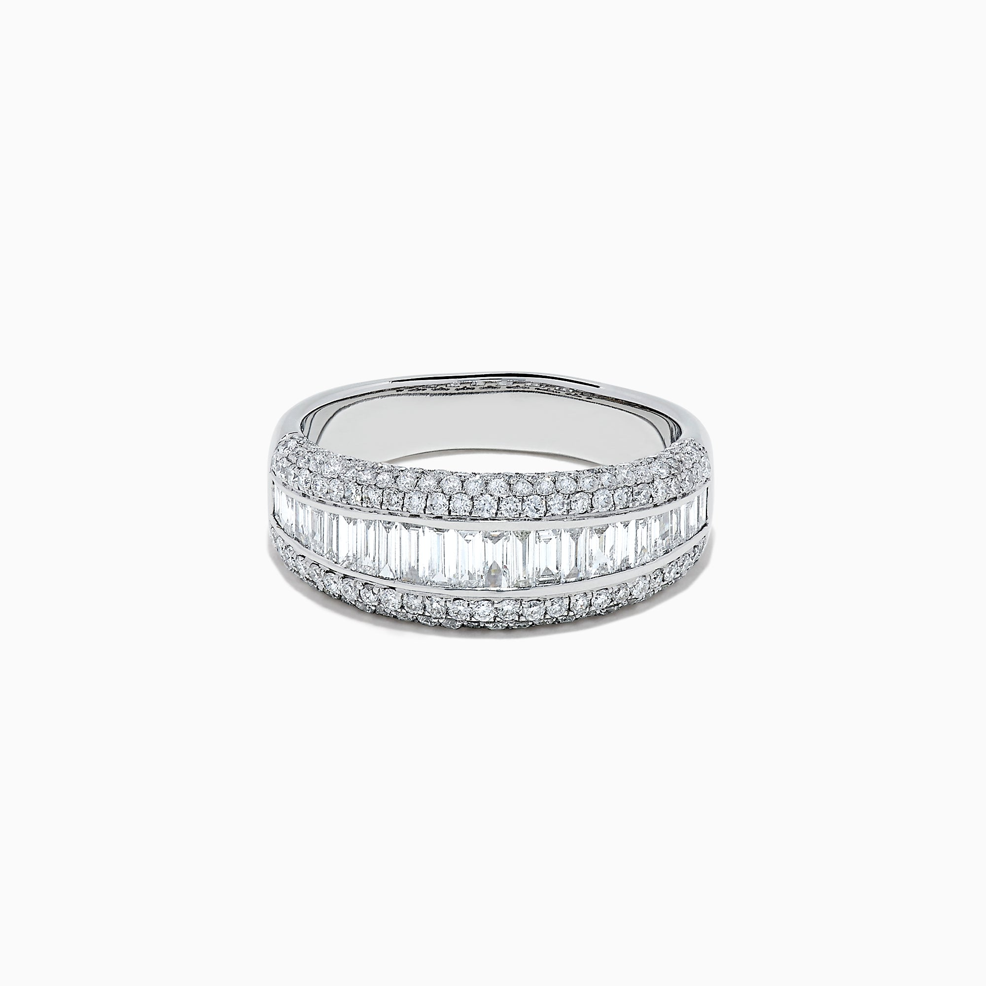 Effy 14K White Gold Diamond Ring, 1.21 TCW