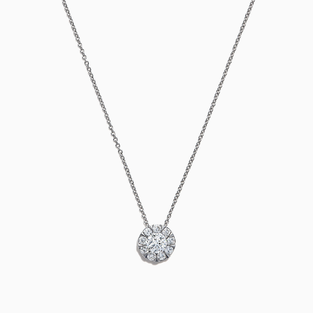 Effy Bouquet 14K White Gold Diamond Pendant, 0.98 TCW