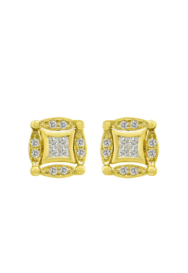 DiVersa Diamond Earrings, .50 TCW