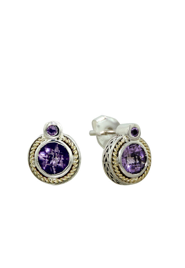 Effy 925 Calypso Amethyst Earrings, 1.32 TCW