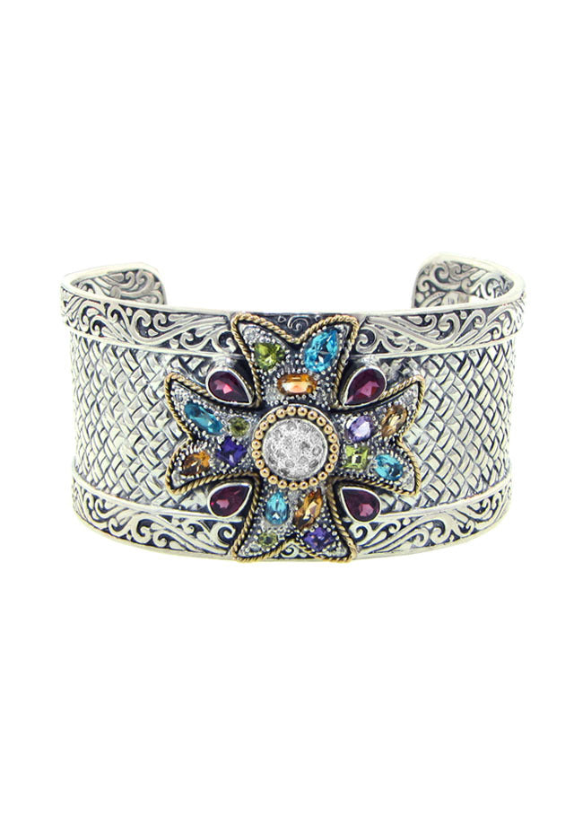 Effy 925 Multi Gemstone Bangle, 5.35 TCW